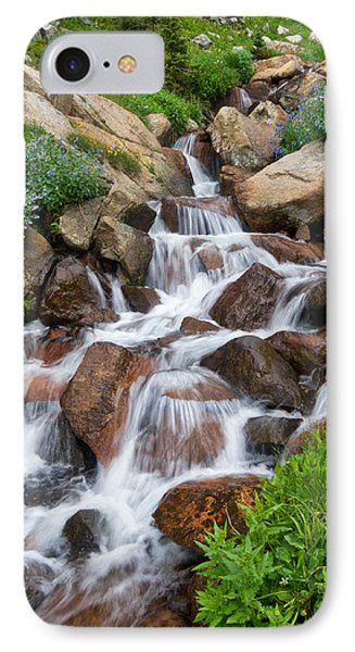 IPhone Case featuring the photograph Mountain Stream by Ronda Kimbrow