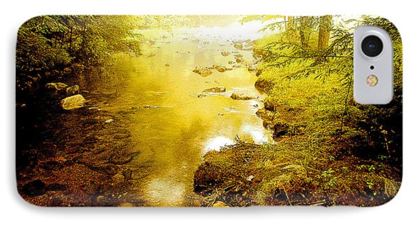 Mountain Stream Summer IPhone Case by A Gurmankin