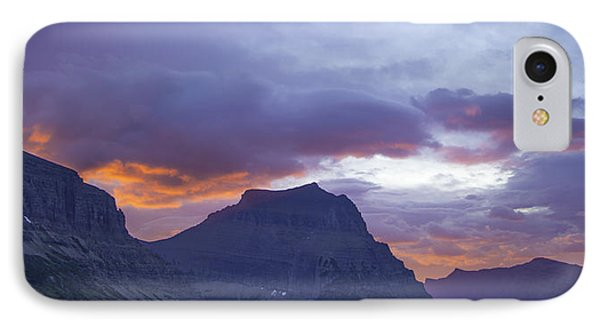 Sunrise Over Going To The Sun Mountain IPhone Case
