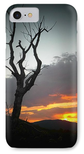 Mountain Sunset IPhone Case by Joyce Kimble Smith