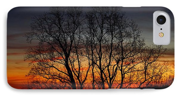 IPhone Case featuring the photograph Mountain Sunset by Kathryn Meyer