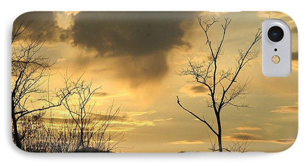 Mountain Sunset Three IPhone Case