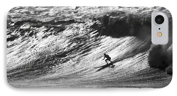 Mountain Surfer Phone Case by Sean Davey