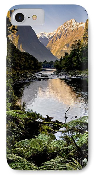 Mountain Valley Phone Case by Tim Hester