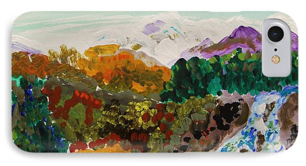 Mountain Water IPhone Case by Mary Carol Williams