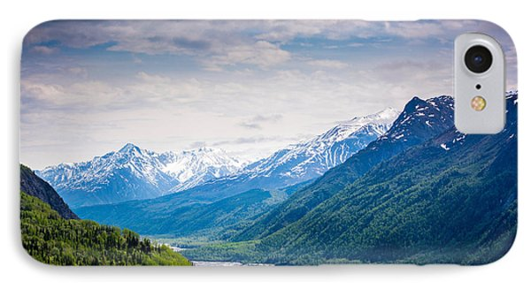 Mountains Along Seward Highway IPhone Case