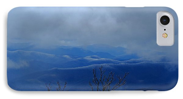 Mountains And Ice IPhone Case by Daniel Reed