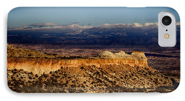Mountains At Senator Clinton P. Anderson Scenic Route Overlook  IPhone Case by Douglas Barnard
