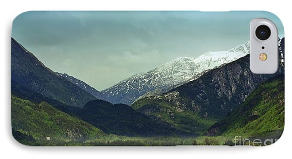 Mountains Beyond Skagway IPhone Case