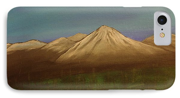Mountains In The Mists Phone Case by Keith Nichols