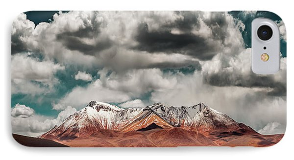 South America iPhone 7 Case - Mountains In The Salvador Dali Desert - Bolivia by Hernan Calderon Velasco