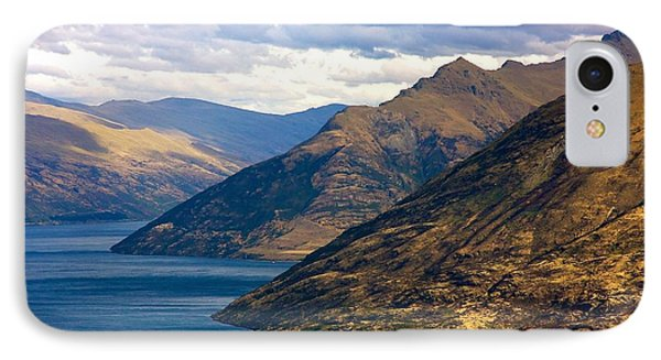 Mountains Meet Lake IPhone Case by Stuart Litoff