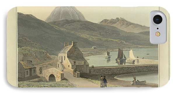 Mountains On The Isle Of Jura IPhone Case by British Library