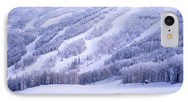 Mountains, Snow, Steamboat Springs IPhone Case by Panoramic Images