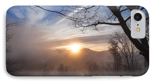 Mountaintop Sunrise IPhone Case by Maria Robinson