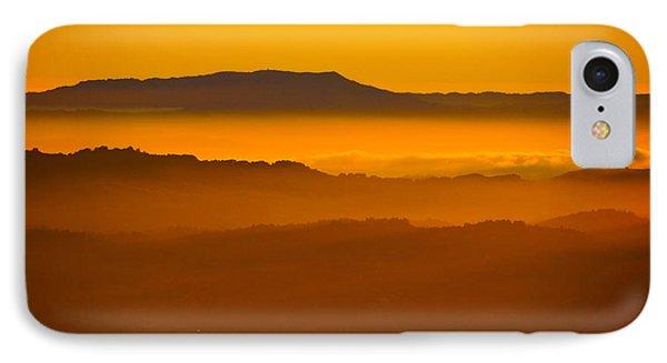 Mountaintop Sunset IPhone Case