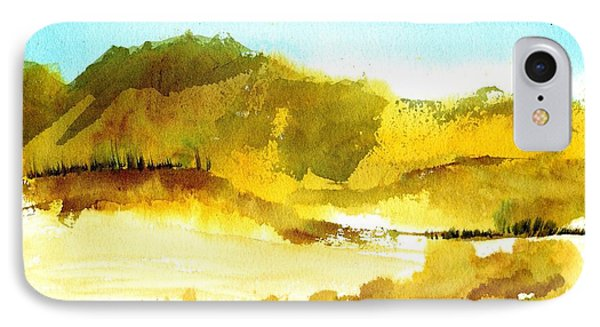 Mountan Desert IPhone Case by Anne Duke