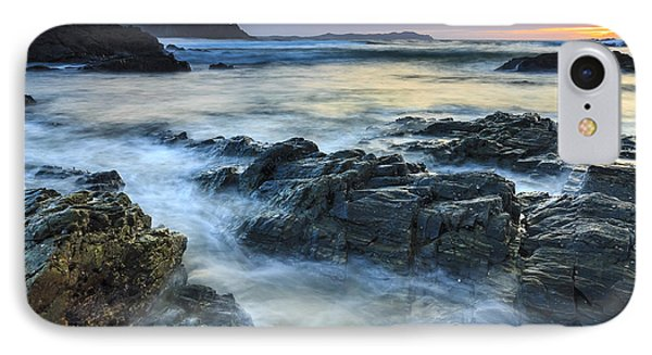IPhone Case featuring the photograph Mourillar Beach Galicia Spain by Pablo Avanzini