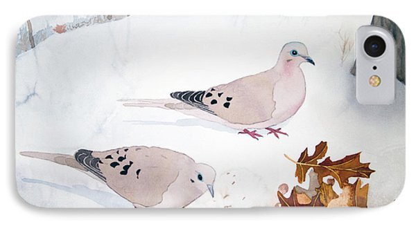 Mourning Doves IPhone Case by Laurel Best