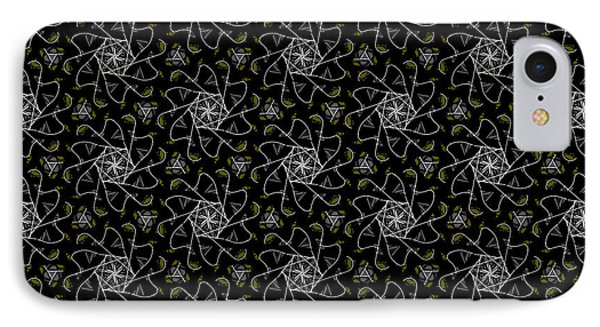 IPhone Case featuring the digital art Mourning Weave by Elizabeth McTaggart