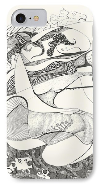 Mournings Past IPhone Case by Melinda Dare Benfield