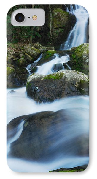 IPhone Case featuring the photograph Mouse Creek Falls In Colour by Photography  By Sai