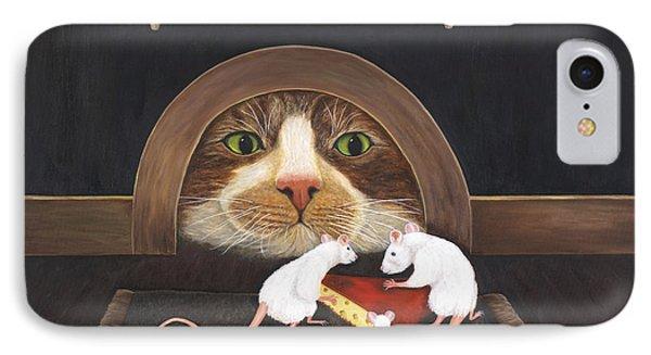 Mouse House Phone Case by Karen Zuk Rosenblatt