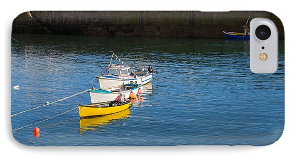 Mousehole Cornwall Phone Case by Louise Heusinkveld