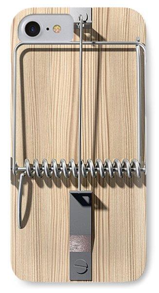 Mousetrap Plain Perspective Phone Case by Allan Swart