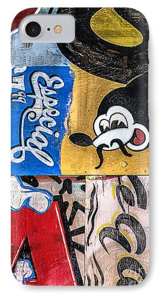 IPhone Case featuring the mixed media Moustache Especial by Terry Rowe