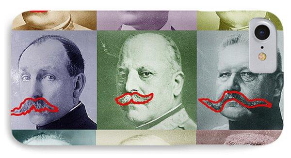 Moustaches Phone Case by Tony Rubino