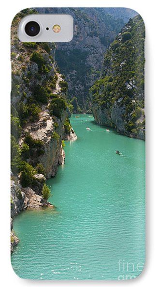 Mouth Of The Verdon River  Phone Case by Bob Phillips