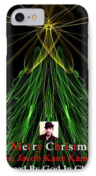 Moveonart A Merry Christmas Love Jacob Kanduch IPhone Case