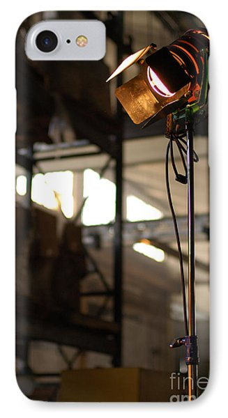 Movie Light IPhone Case by Micah May