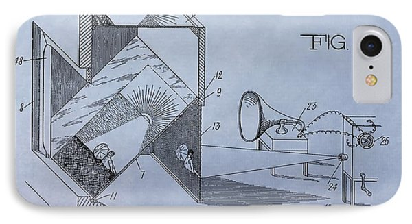 Movie Theater Patent IPhone Case