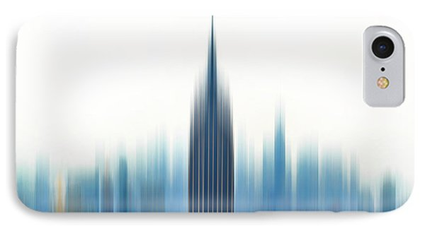 Empire State Building iPhone 7 Case - Moving An Empire by Az Jackson
