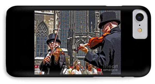 IPhone Case featuring the photograph Mozart In Masquerade by Ann Horn