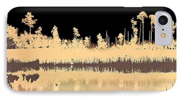 Mprints - Bare Bones IPhone Case by M  Stuart