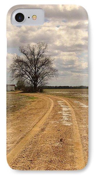 Mprints - Delta Church IPhone Case by M  Stuart