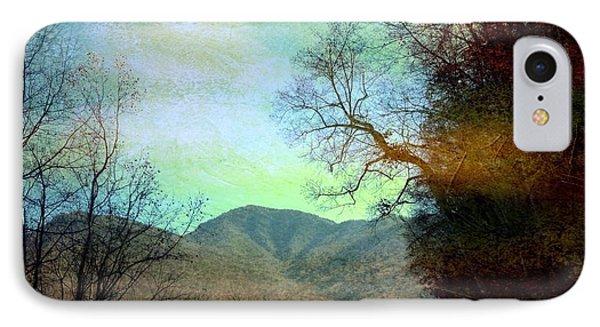 Mprints-smokey Mountain Memories IPhone Case by M  Stuart