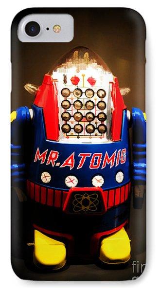 Mr. Atomic Tin Robot IPhone Case