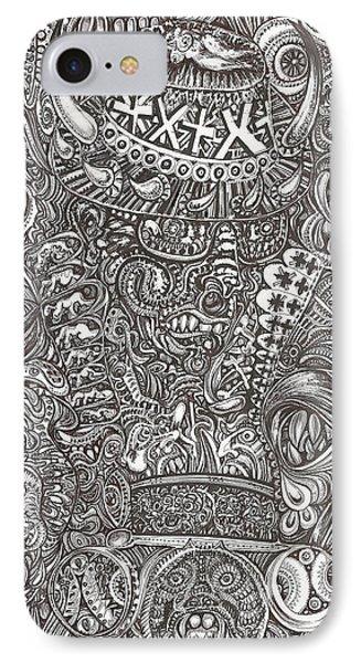 Mr Chameleon IPhone Case