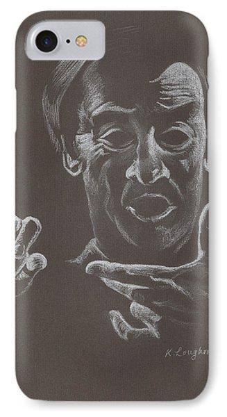 Mr Conductor Phone Case by Karen Loughridge KLArt