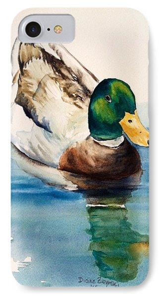 Mr Duck IPhone Case