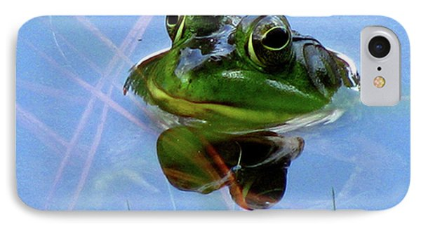 IPhone Case featuring the photograph Mr. Frog by Donna Brown