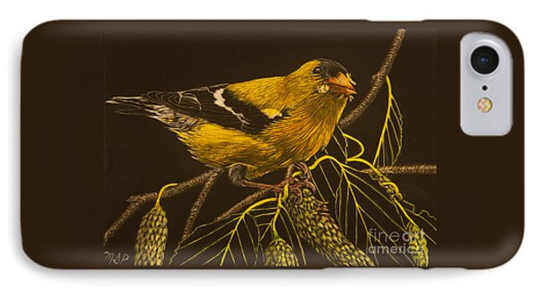 Mr Goldfinch IPhone Case