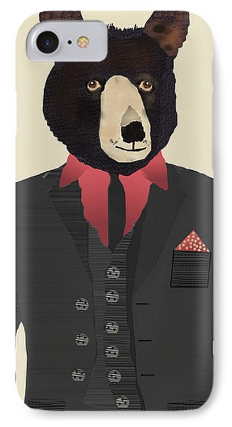 Mr Grizzly Bear IPhone 7 Case