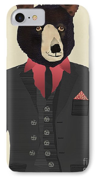 Mr Grizzly IPhone 7 Case