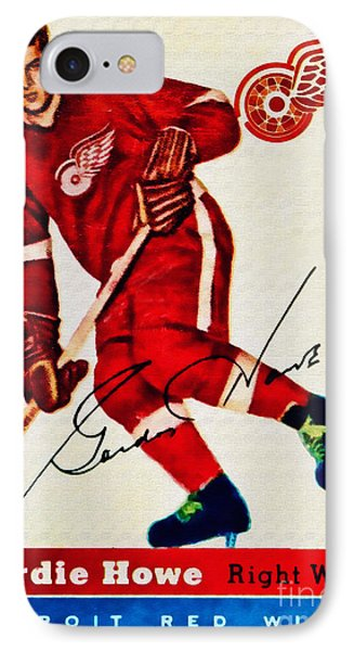 Mr. Hockey  IPhone Case by Kerry Gergen