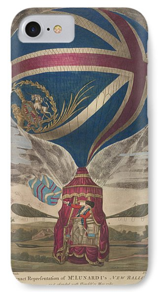 Mr. Lunardi's New Balloon IPhone Case by British Library